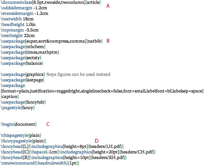 Sample Latex Files