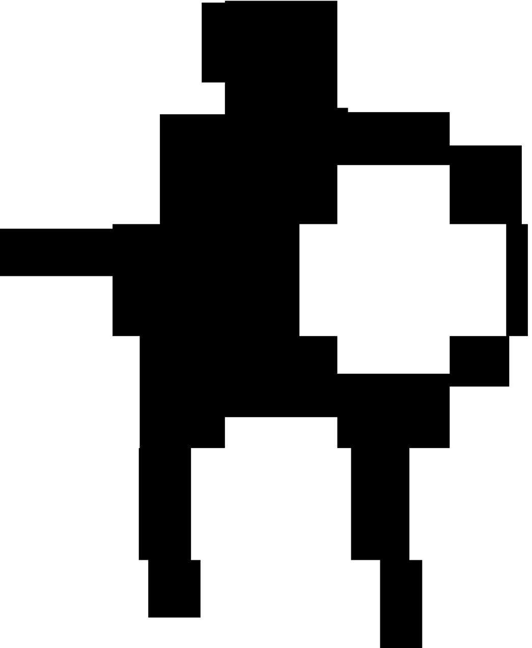 Skeleton outline